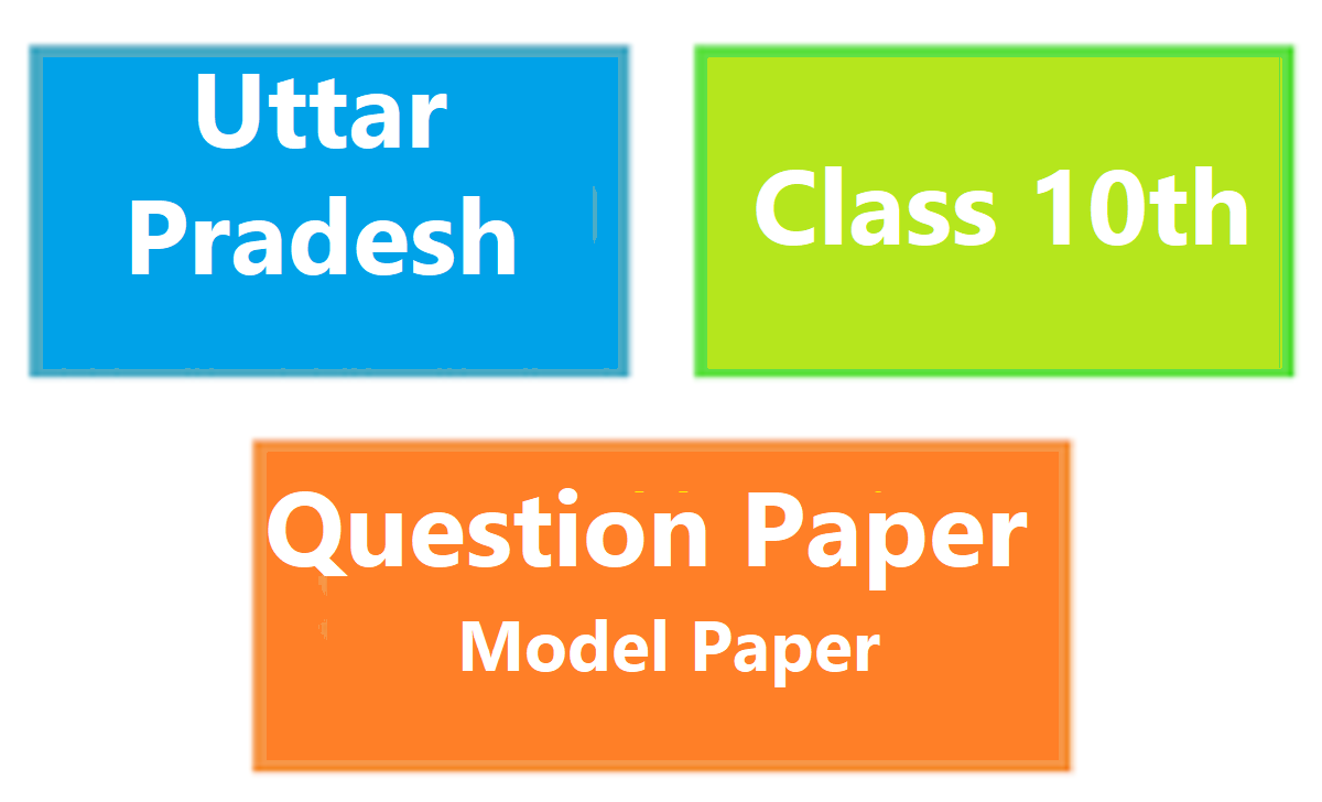 UP Madhyamik Question Paper 2021 UP 10th Exam Pattern 2021 UP X Blueprint 2021