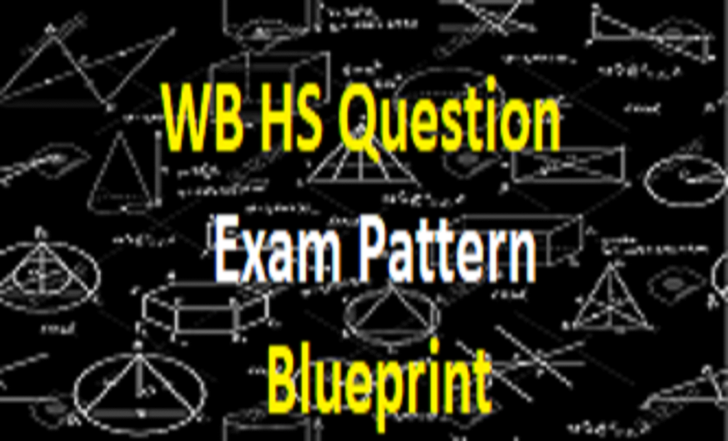 WB HS Question Paper 2021 WB 12th Exam Pattern 2021 WB HS Blueprint 2021